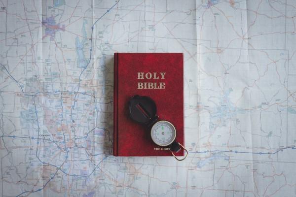 Exploring Faith: Bible, Compass, & Map