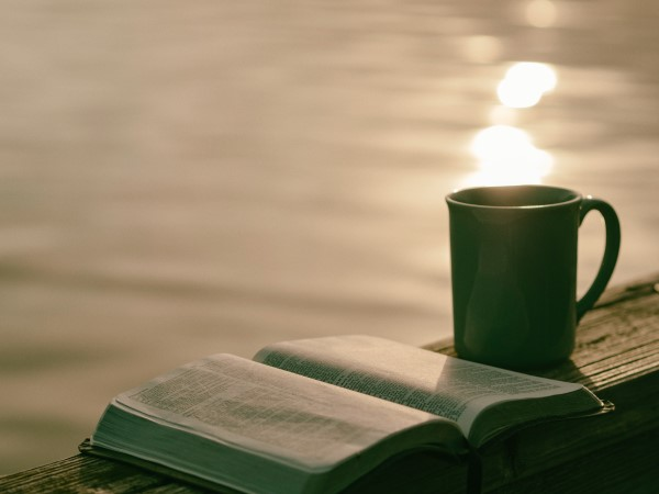 Book-Coffee-Pier-Water